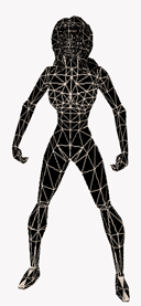 Freedom Force Meshes Wireframe
